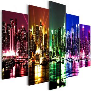 Kép - Rainbow New York (5 Parts) Wide