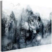 Kép - Mountain Predator (1 Part) Wide Black and White