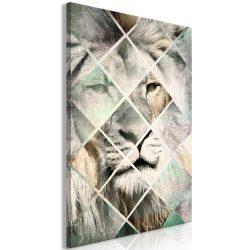 Kép - Lion on the Chessboard (1 Part) Vertical
