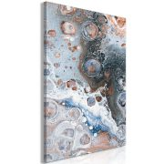 Kép - Blue Sienna Marble (1 Part) Vertical