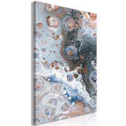 Kép - Blue Sienna Marble (1 Part) Vertical