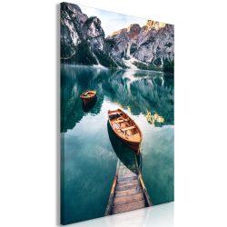 Kép - Boats In Dolomites (1 Part) Vertical