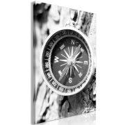 Kép - Black and White Compass (1 Part) Vertical