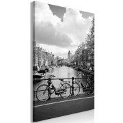 Kép - Bikes On Bridge (1 Part) Vertical