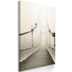 Kép - Bridge in the Fog (1 Part) Vertical
