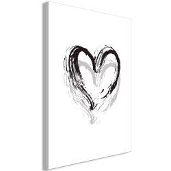 Kép - Brush Heart (1 Part) Vertical