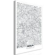 Kép - Map of Berlin (1 Part) Vertical