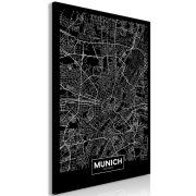 Kép - Dark Map of Munich (1 Part) Vertical