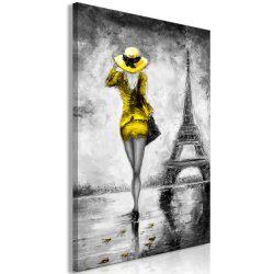 Kép - Parisian Woman (1 Part) Vertical Yellow