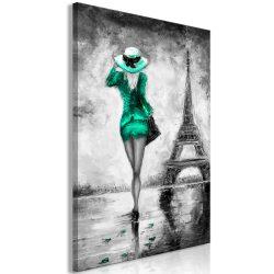 Kép - Parisian Woman (1 Part) Vertical Green