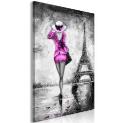 Kép - Parisian Woman (1 Part) Vertical Pink