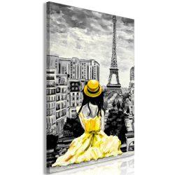 Kép - Paris Colour (1 Part) Vertical Yellow
