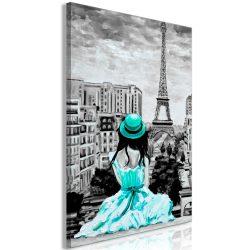 Kép - Paris Colour (1 Part) Vertical Green