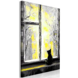 Kép - Longing Kitty (1 Part) Vertical Yellow