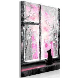 Kép - Longing Kitty (1 Part) Vertical Pink
