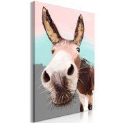 Kép - Curious Donkey (1 Part) Vertical