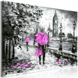 Kép - Walk in London (1 Part) Wide Pink