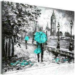 Kép - Walk in London (1 Part) Wide Turquoise