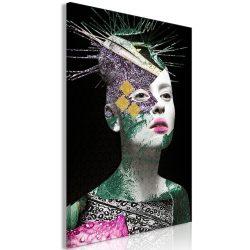 Kép - Colourful Portrait (1 Part) Vertical