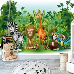 Fotótapéta - Jungle Animals