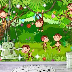 Fotótapéta - Monkey Tricks