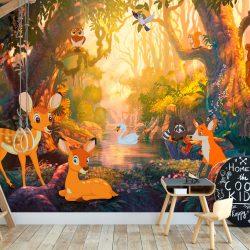 Fotótapéta - Animals in the Forest