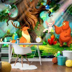 Fotótapéta - Bear and Friends