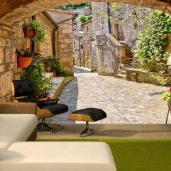 Fotótapéta - Provincial alley in Tuscany