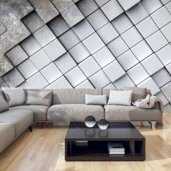 Fotótapéta - Gray background 3D