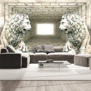 Fotótapéta - Chamber of lions