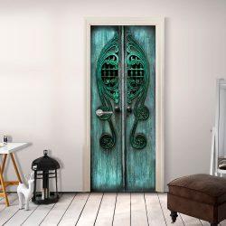 Fotótapéta ajtóra - Emerald Gates