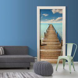 Fotótapéta ajtóra - Turquoise Harbour