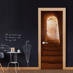 Fotótapéta ajtóra - Secret Stairs