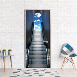 Fotótapéta ajtóra -  Escalator