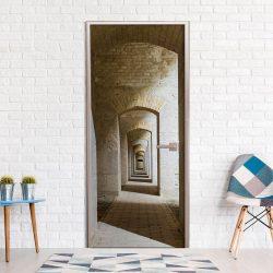 Fotótapéta ajtóra - Mysterious Corridor