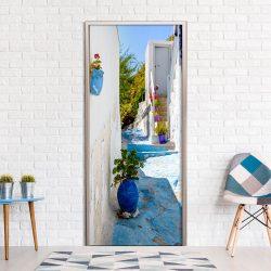 Fotótapéta ajtóra - Blue Alley