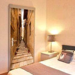 Fotótapéta ajtóra - Photo wallpaper – Narrow alley I