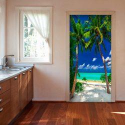 Fotótapéta ajtóra - Photo wallpaper - Island, beach I