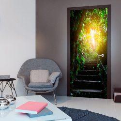 Fotótapéta ajtóra - Photo wallpaper - Stairs in the urban jungle I