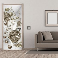 Fotótapéta ajtóra - Photo wallpaper - Bubble abstraction I