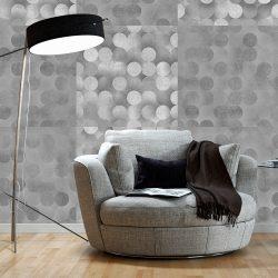 Fotótapéta - Light Grey Rain