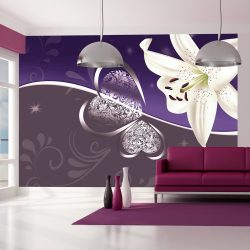 Fotótapéta - Lily in shades of violet