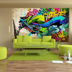 Fotótapéta - Funky - graffiti