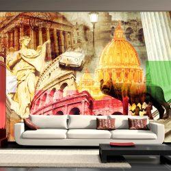 Fotótapéta - Rome - collage
