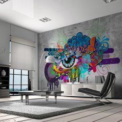 Fotótapéta - Graffiti eye