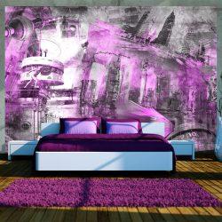 Fotótapéta - Berlin - collage (violet)