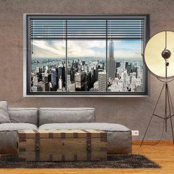 Fotótapéta - New York window