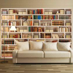 Fotótapéta - Home library