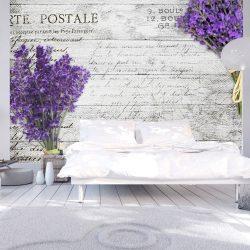 Fotótapéta - Lavender postcard