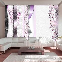 Fotótapéta - Parade of orchids in violet